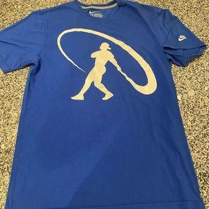 Nike swingman athletic shirt baseball medium